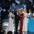 Finale du concours Miss Russie 2017 à Moscou. Le 15 avril 2017.