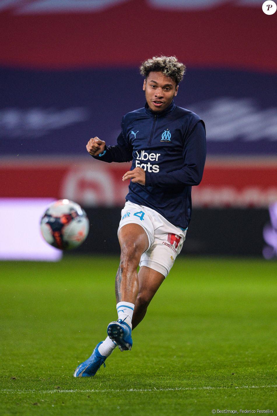 Boubacar Kamara ( 4 - Olympique Marseille ) - Echauffement - Match ...