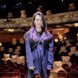 """Exclusif - Camille Lellouche au livestream """"CamKev Comedy and Songs"""" diffusé sur la plateforme de streaming Gigson.live, au théâtre Mogador. Paris, France, le 5 avril 2021. © Veeren/Bestimage"""