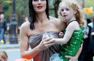 Brooke Shields : Une superbe Cléopâtre qui offre des moments magiques à... ses petits !