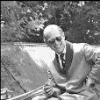 Le prince Philip en 1977 à Badminton.