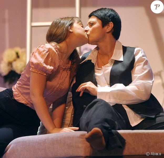 Olivia Luccioni et Sonia Dubois  au théâtre Daunou (2 novembre 2009)