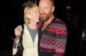 Sting et sa femme, Helena Christensen et Guy Ritchie : Sortie entre copains... au pub !