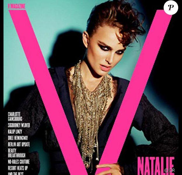 Natalie Portman par Mario Testino pour V Magazine.