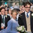 Mariage de Ellie Goulding et Caspar Jopling en la cathédrale d'York, le 31 août 2019