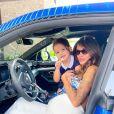 Julia Paredes et sa fille Luna sur Instagram, le 24 avril 2021
