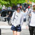 Katie Holmes et son ami Michael Fitzgerald à New York. Le 4 mai 2021.