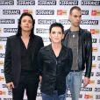 Le groupe Placebo, aux MTV Europe Music Awards à Berlin, le 5 novembre 2009, nominé dans la catégorie Meilleur artiste ou groupe alternatif.
