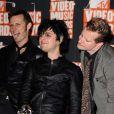 Les trois membres déjantés du groupe Green Day sont nominés dans les catégories Meilleur groupe, Meilleur concert, Meilleur artiste rock.