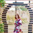 Audrey Fleurot, la comédienne française, est la marraine de la 3eme édition du Festival des Jardins qui se déroule dans les Alpes-Maritimes du 9 mai au 9 juin.