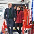 Le prince William, duc de Cambridge, Catherine Kate Middleton, duchesse de Cambridge lors d'une visite de la base de secours de Caenarfon le 8 mai 2019.