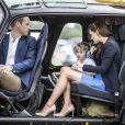 Kate Middleton, le prince William et leurs enfants en hélicoptère : les Cambridge s'envolent pour de nouvelles aventures !