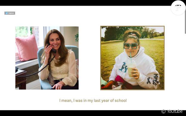 """Pour célébrer le lancement du livre """"Hold Still"""", le 6 mai 2021, Kate Middleton ressort sa blouse crème Whistles, qu'elle portait déjà en 2010 pour ses fiançailles avec le prince William."""