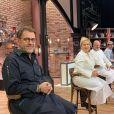"Michel Sarran sur le tournage de ""Top Chef 2021"", octobre 2020"