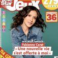 Fabienne Carat fait la couverture de Télé Star Jeux