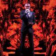 George Michael en concert au Ziggo Dome à Amsterdam, le 14 septembre 2012.
