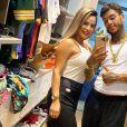 Kevin Nascimento et son épouse Deolane Bezerra. Instagram. Le 8 octobre 2020.
