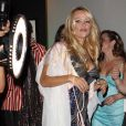 Pamela Anderson à l'Intercontinental à Miami