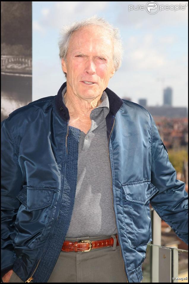Clint Eastwood à Lyon octobre 2009