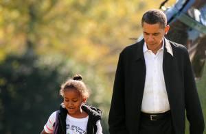 Barack Obama : Pour oublier ses soucis... il emmène Michelle et les filles en week-end !