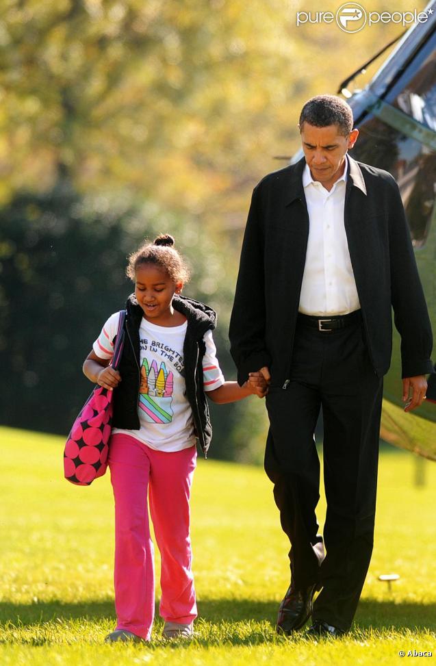 famille barack obama