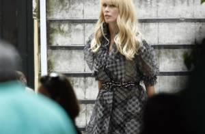 Claudia Schiffer : Un superbe tête à tête avec Karl Lagerfeld à l'autre bout du monde...