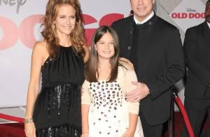 John Travolta, sa femme et sa fille, magnifiques d'amour et plus unis que jamais... et entourés de Robin Williams et Tom Hanks !