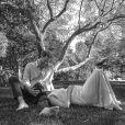 Le prince Harry et Meghan Markle annoncent l'arrivée de leur deuxième enfant en image, avec une photo prise par leur ami photographe  Misan Harriman. Le 14 février 2021.