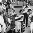 Archives - La reine Elisabeth II d'Angleterre et le prince Philip, duc d'Edimbourg, lors de la cérémonie de bienvenue à Freetown en Sierra Leone, à l'occasion de leur tour d'Afrique.