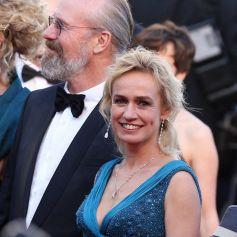Sandrine Bonnaire et William Hurt au Festival de Cannes.