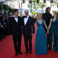 Sandrine Bonnaire et William Hurt au Festival de Cannes en 2012.