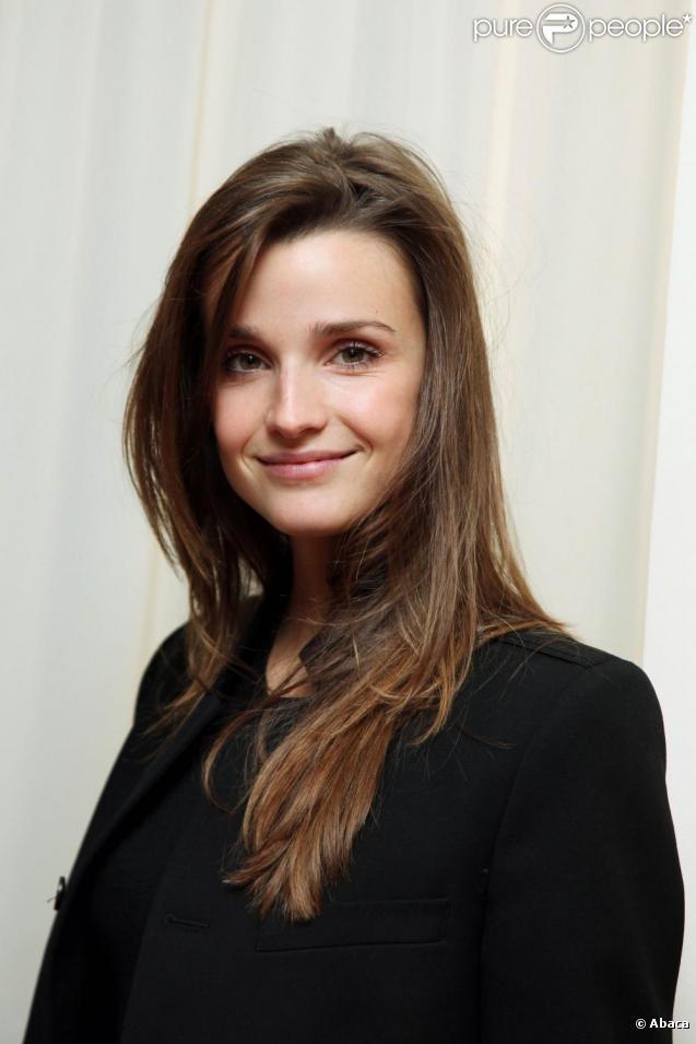Céline Bosquet à la conférence de presse de la radio lancée par i>Télé et Goom Radio. 17/11/09