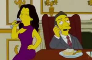Regardez Carla Bruni et Nicolas Sarkozy chez les Simpsons... Ils ont osé !