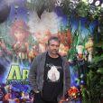 Luc Besson, ce dimanche 22 novembre, à l'avant-première parisienne d' Arthur et la Vengeance de Malthazard  dont il est le producteur et réalisateur, sur les Champs-Elysées.