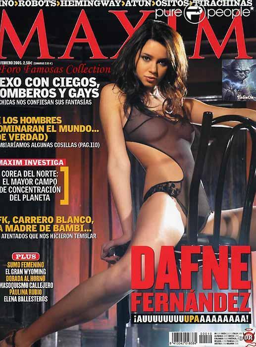 Dafne Fernandez n'est pas timide... et c'est tant mieux !