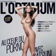 La pornostar Katsuni en couverture de  L'Optimum .