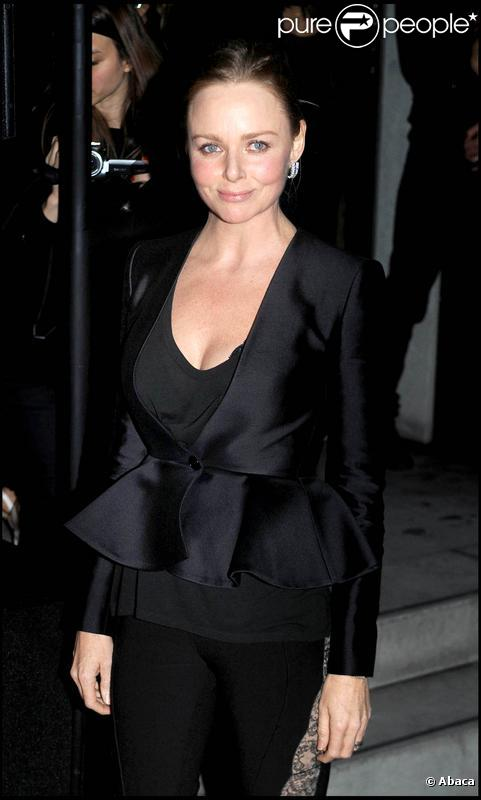 Stella McCartney à Londres, pour l'illumination de la boutique de Stella McCartney, le 23 novembre 2009