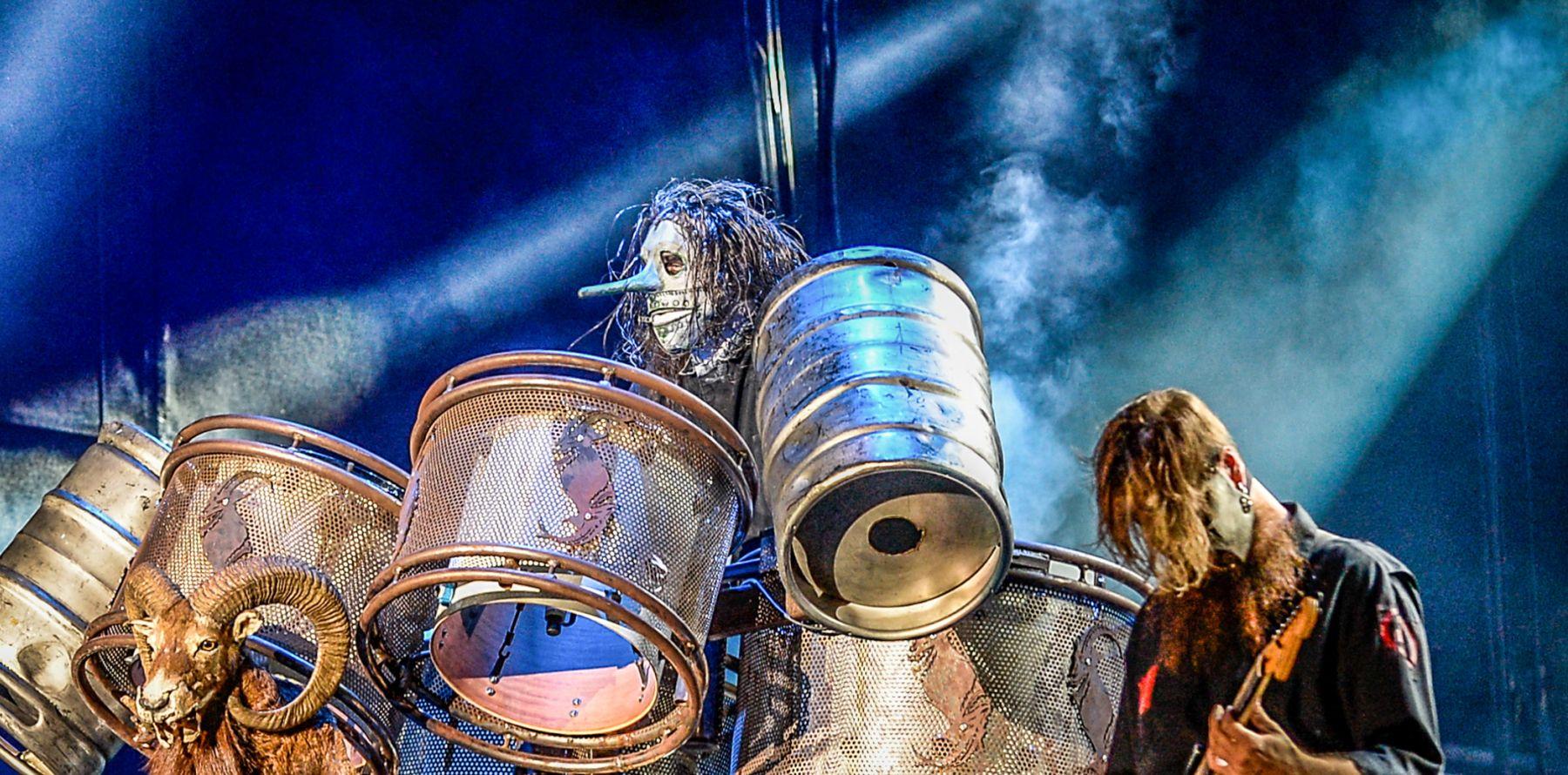 Slipknot : Mort de Joey Jordison, batteur du groupe de ...