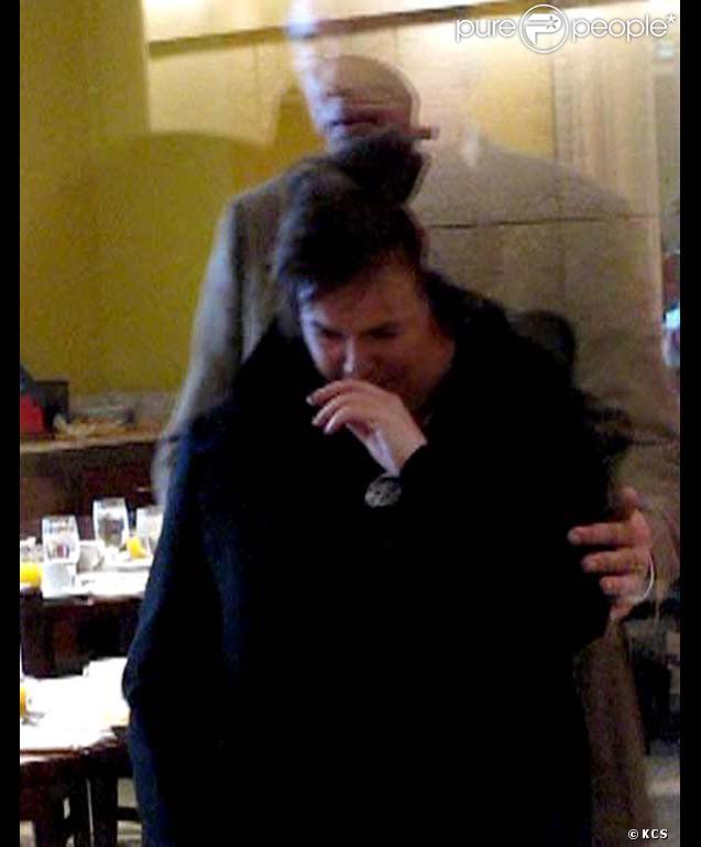 Susan Boyle en pleurs