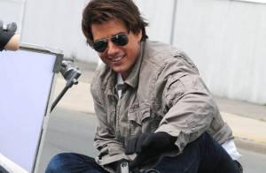 Regardez la star Tom Cruise en pleine cascade très dangereuse... sur les toits et en pleine nuit !