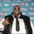 Big Ali à la soirée Starfloor à Paris Bercy le 29/11/09