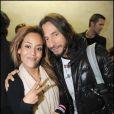 Amel Bent et Bob Sinclar à la soirée Starfloor à Paris Bercy le 29/11/09