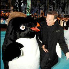 """Robin Williams à la première du film """"Happy Feet"""" à Londres en 2006."""