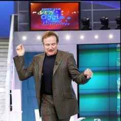 Robin William à la télévision italienne en 2005.