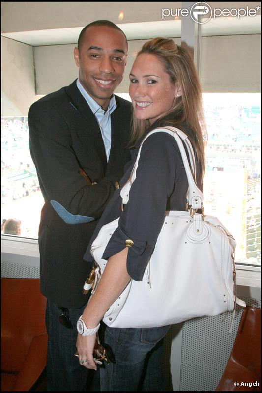 Thierry Henry et Claire Merry