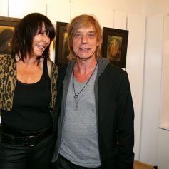 Jean-Louis Aubert et sa compagne France Lory en 2011.