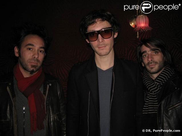 Les membres du groupe français dandy Pony Pony Run Run a totalement mis le feu au Baron, le 30 novembre, pour la soirée privée de lancement du site  PureFans.com  !