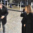 Le Prince Laurent et la Princesse Claire aux obsèques du Prince Alexandre de Belgique