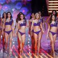 Les 12 miss finalistes lors de l'élection Miss France le 5 décembre 2009