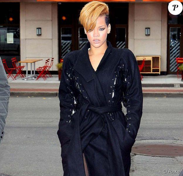 Rihanna était l'invitée du Saturday Night Live, à New York, le 5 décembre 2009.
